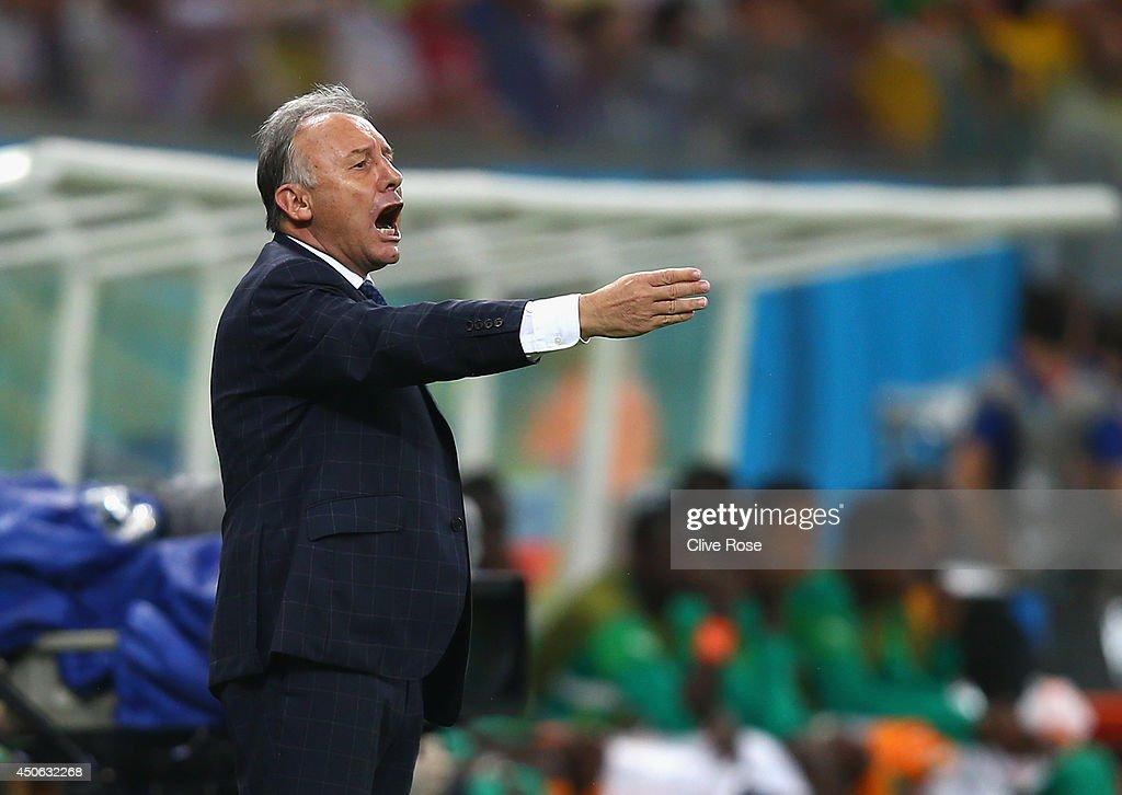 Cote D'Ivoire v Japan: Group C - 2014 FIFA World Cup Brazil : ニュース写真