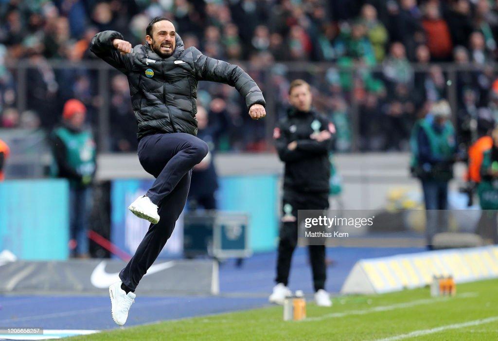 Hertha BSC v SV Werder Bremen - Bundesliga : Nachrichtenfoto
