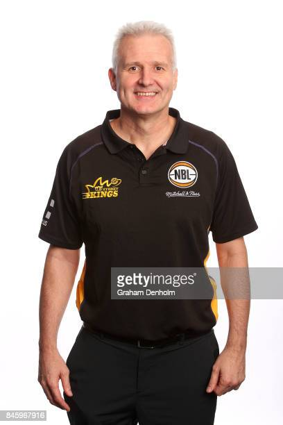 Head Coach Andrew Gaze of the Sydney Kings poses during the 2017/18 NBL Media Day at Crown Entertainment Complex on September 11 2017 in Melbourne...
