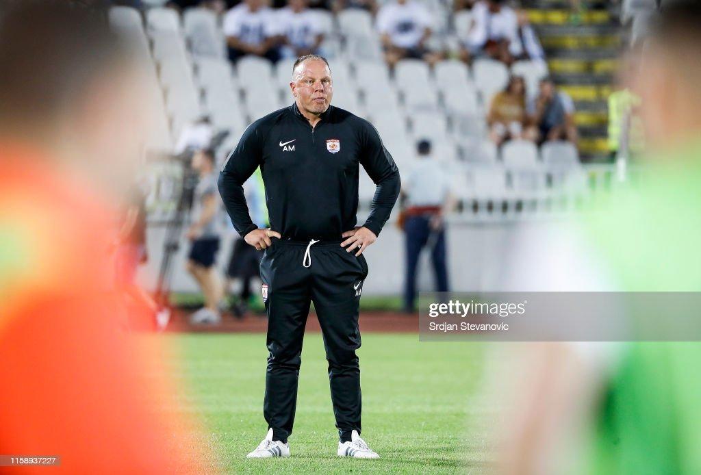 Partizan v Connah's Quay – UEFA Europa League Second Qualifying round: 2nd Leg : News Photo