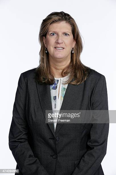 Head coach Anne Donovan of the Connecticut Sun players pose for portraits at WNBA Media Day Mohegan Sun on May 19 2015 in New York New York NOTE TO...