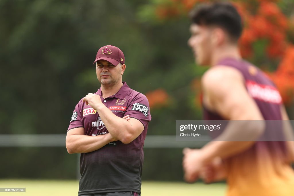 Brisbane Broncos Media Opportunity : News Photo
