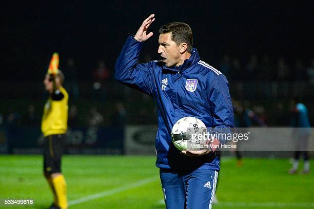 Head coach Besnik Hasi of RSC Anderlecht pictured during the Cofidis Cup 1/16 Final match between Patro Eisden and Rsc Anderlecht on September 24...