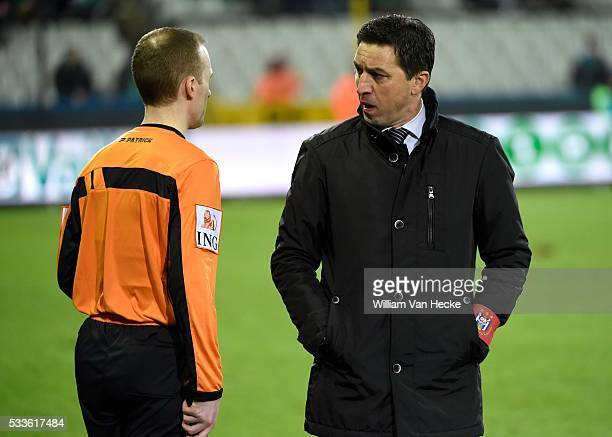 Head coach Besnik Hasi of RSC Anderlecht pictured during the Jupiler Pro League match between Cercle Brugge and RSC Anderlecht in the Jan Breydel...