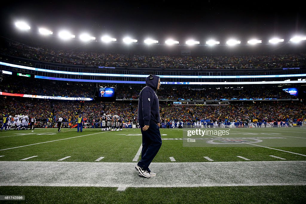 AFC Championship - Indianapolis Colts v New England Patriots : News Photo