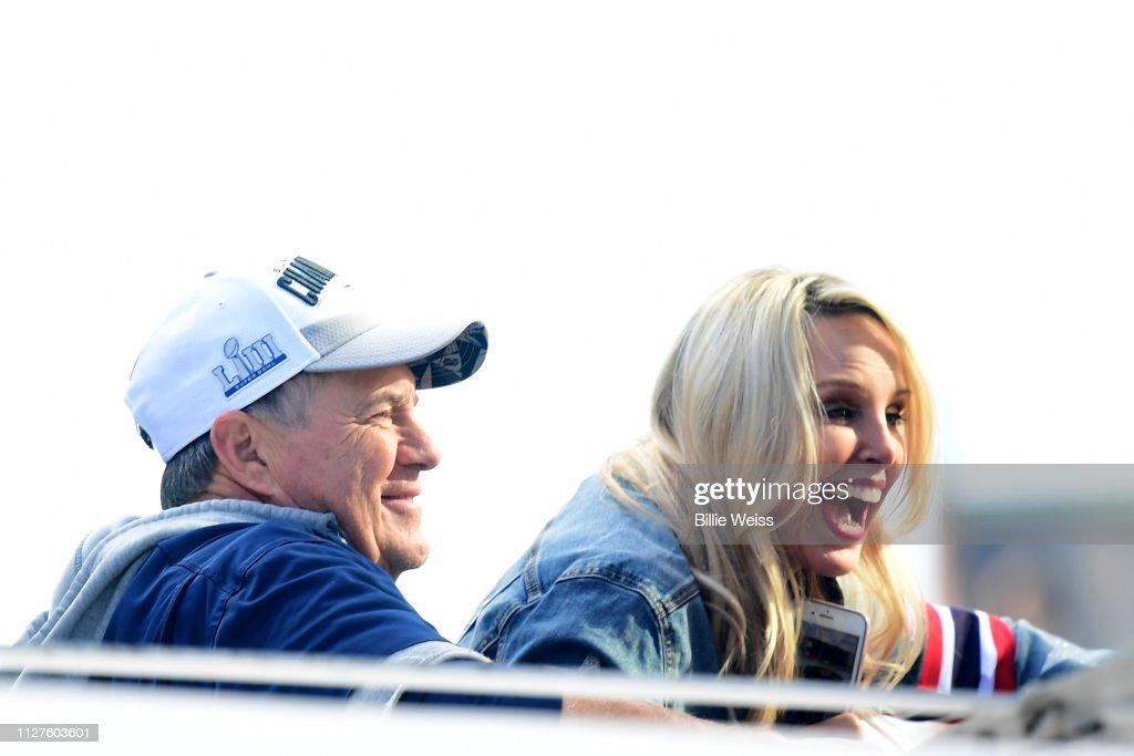 New England Patriots Victory Parade : News Photo