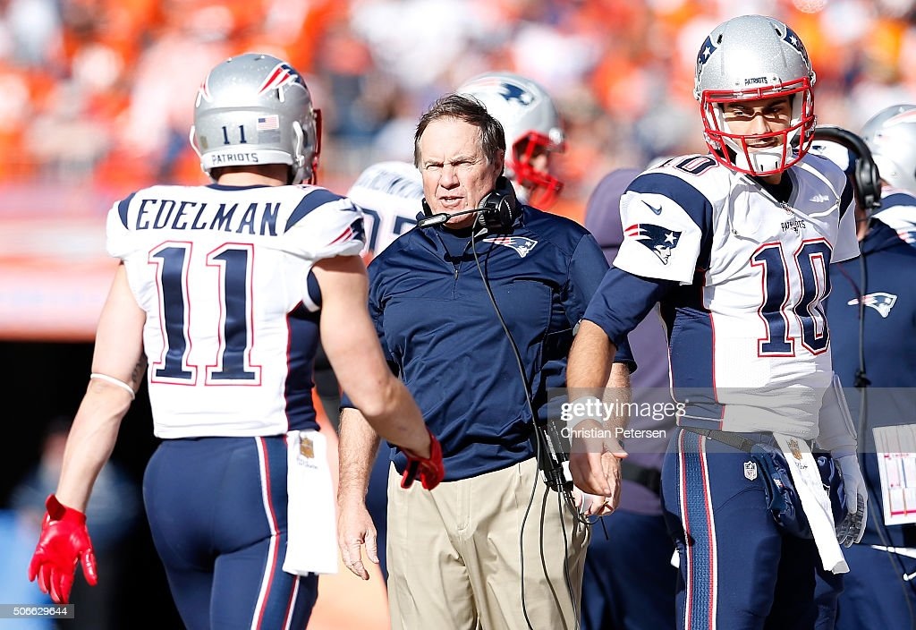 AFC Championship - New England Patriots v Denver Broncos : News Photo