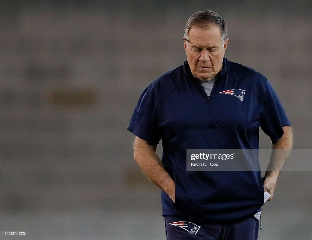 New England Patriots Practice : News Photo