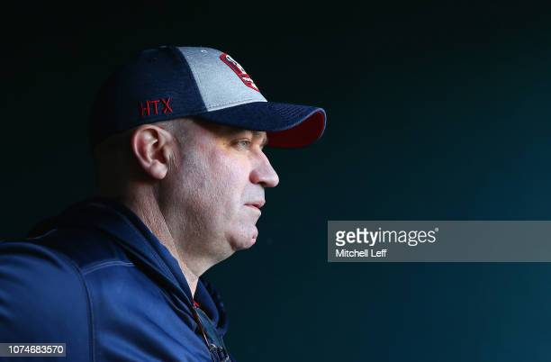 head coach Bill O'Brien of the Houston Texans walks onto the field before the game against the Philadelphia Eagles at Lincoln Financial Field on...