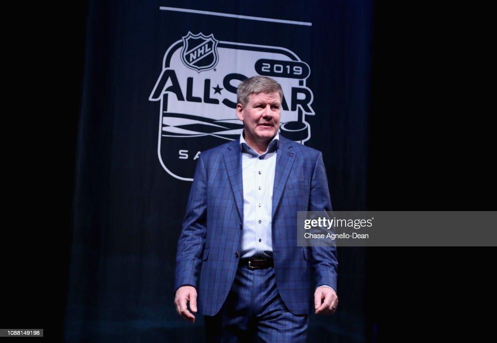 2019 NHL All-Star - Media Day : News Photo