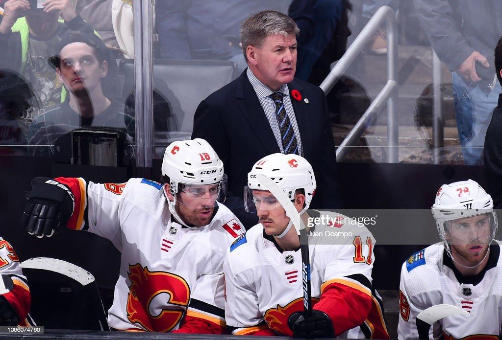 Calgary Flames v Los Angeles Kings : Foto di attualità