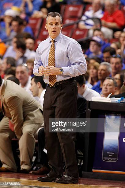 Head coach Billy Donovan of the Florida Gators looks on during first half action against the Fresno State Bulldogs during the MetroPCS Orange Bowl...