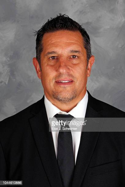 Head Coach Bob Boughner of the Florida Panthers poses for his official headshot for the 20182019 season on September 13 2018 at the BBT Center in...
