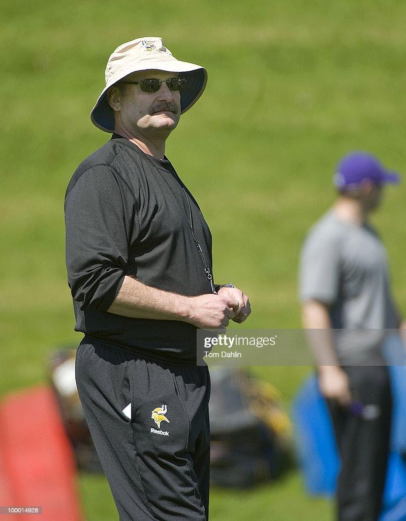 Minnesota Vikings Team Practice