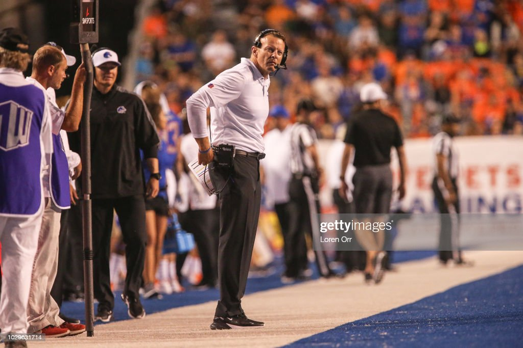 Connecticut v Boise State : News Photo