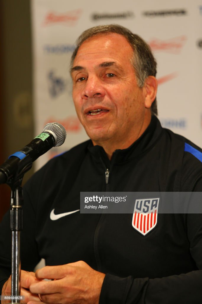 United States Training & Press Conference : News Photo