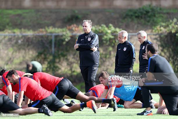 Head coach Bruce Arena The United States Men's National Team held their first training session under new head coach Bruce Arena on The Murphy Family...