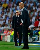 madrid spain head coach carlo ancelotti