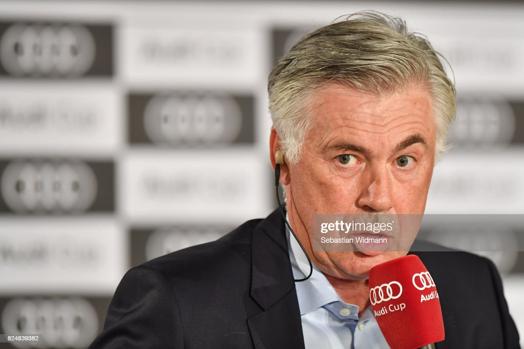Audi Cup 2017 Press Conference : News Photo