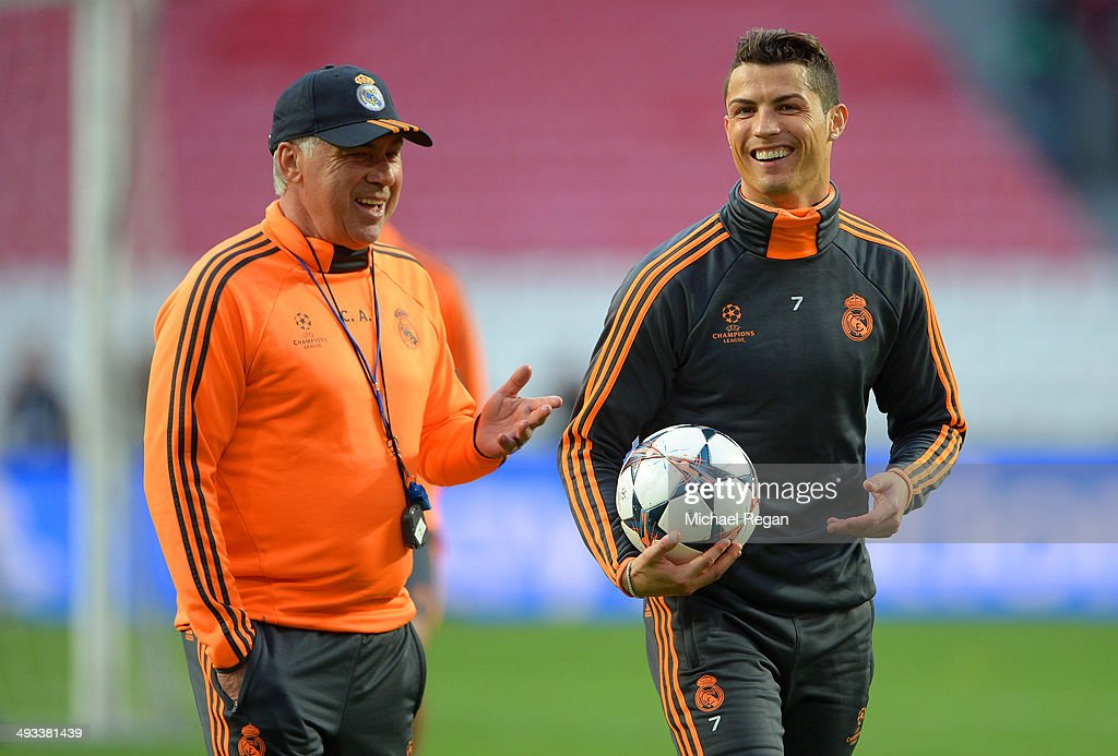 Real Madrid Training - UEFA Champions League Final : News Photo