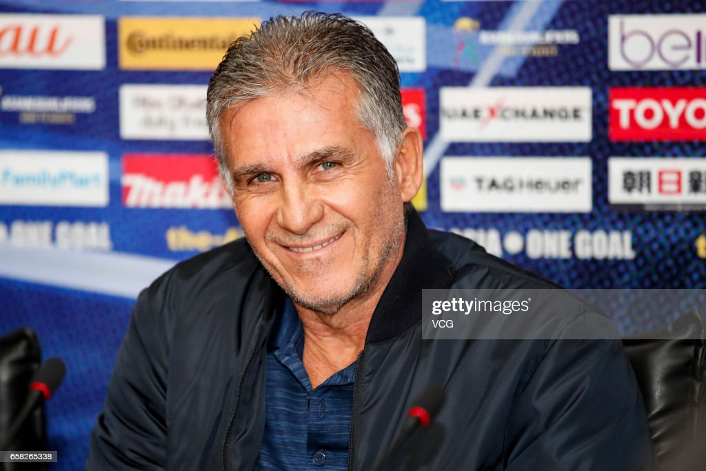 Iran Press Conference - 2018 FIFA World Cup Qualifier