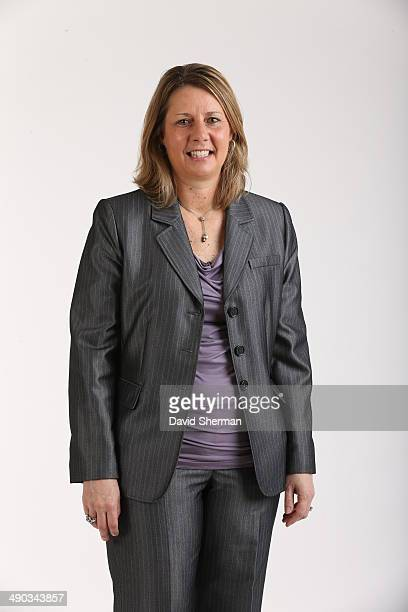 Head Coach Cheryl Reeve of the Minnesota Lynx poses for portraits during 2014 Media Day on May 12 2014 at the Minnesota Timberwolves and Lynx...