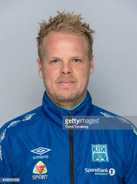 Head Coach Christian Michelsen of Team Kristiansund BK on March 7 2017 in Kristiansund Norway