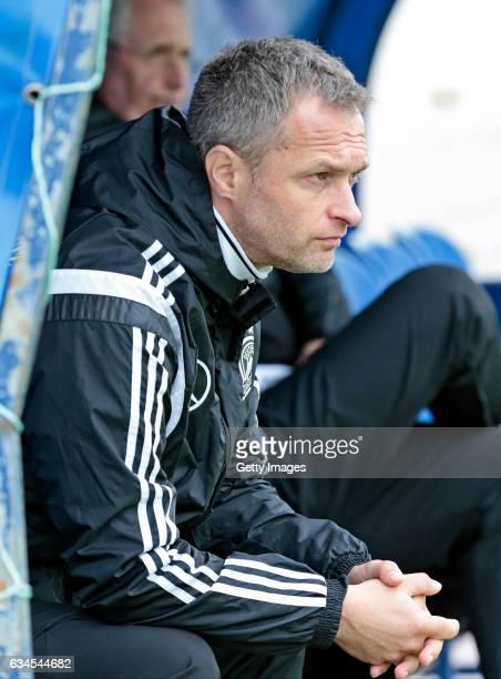 Head Coach Christian Wuck of Germany U17 during the Algarve International Tournament U17 Match between Netherlands U17 and Germany U17 on February 10...