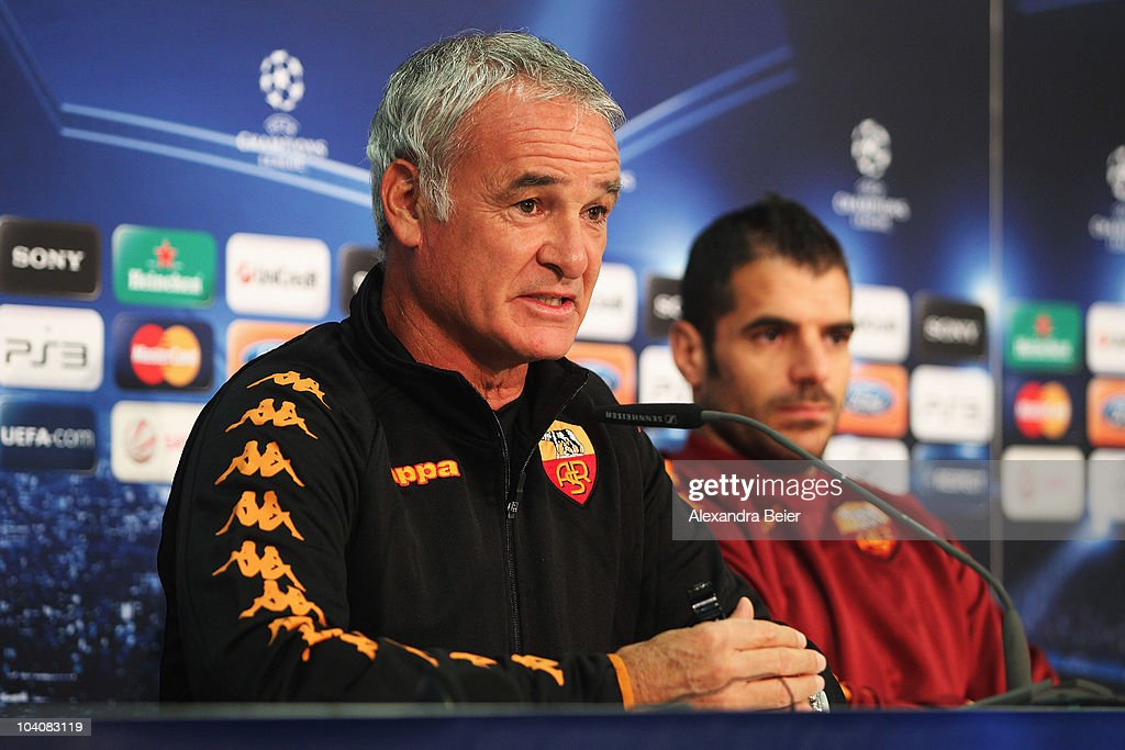 AS Roma - Training & Press Conference