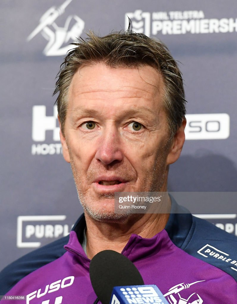 AUS: Melbourne Storm Media Opportunity