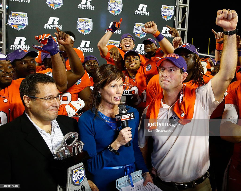 Russell Athletic Bowl - Clemson v Oklahoma : News Photo