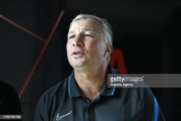 Head Coach Dan Petrescu of Hes Kablo Kayserispor speaks during an exclusive interview with Anadolu Agency on his team's objectives in Kayseri ,Turkey...