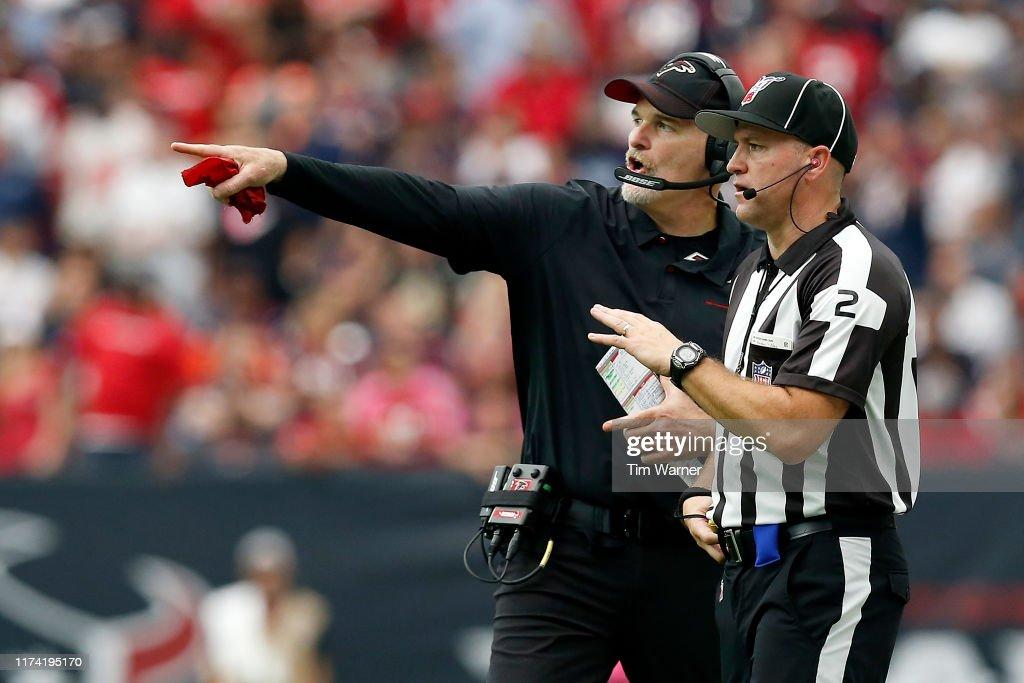 Atlanta Falcons v Houston Texans : Fotografía de noticias