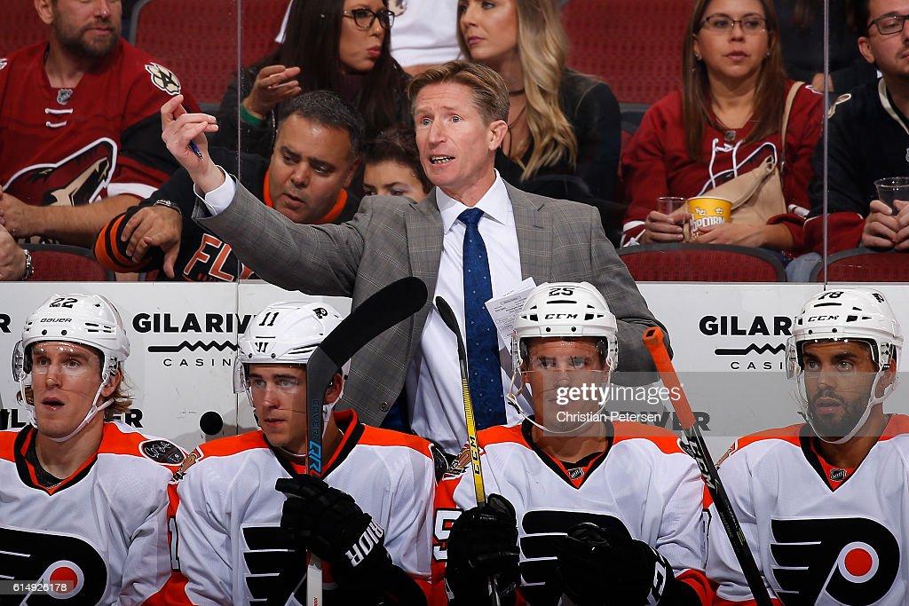 Philadelphia Flyers v Arizona Coyotes