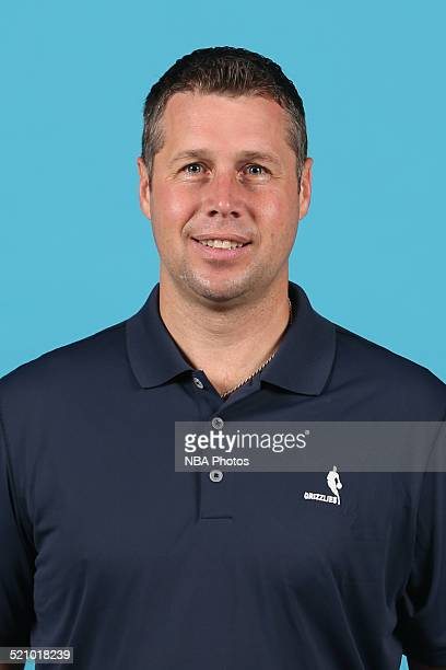 Head coach David Joerger of the Memphis Grizzlies poses for a portrait during Memphis Grizzlies Media Day on September 29 2014 at FedExForum in...