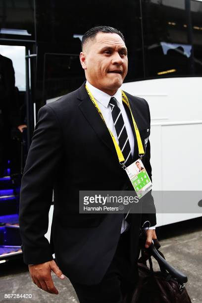 Head coach David Kidwell of the Kiwis arrives for the 2017 Rugby League World Cup match between the New Zealand Kiwis and Samoa at Mt Smart Stadium...