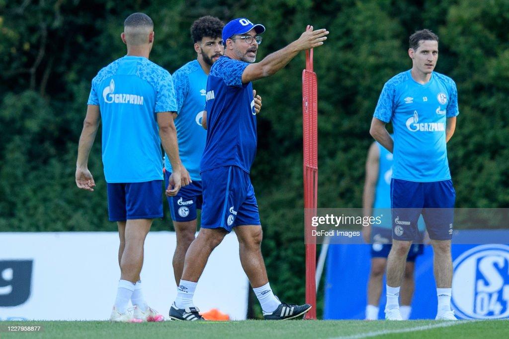 FC Schalke 04 Herzlake Training Camp : News Photo