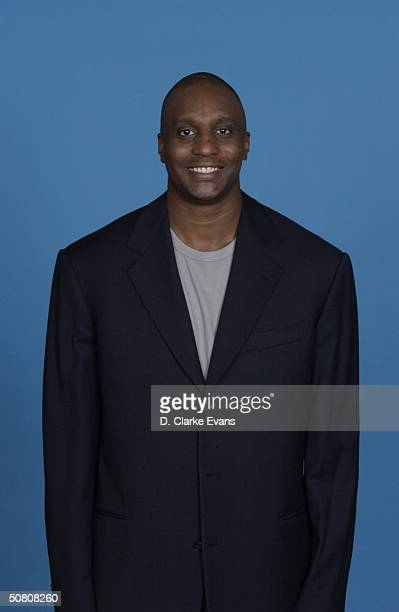 Head coach Dee Brown of the San Antonio Silver Stars poses for a portriat during the 2004 WNBA Media Day on April 26 in San Antonio Texas NOTE TO...