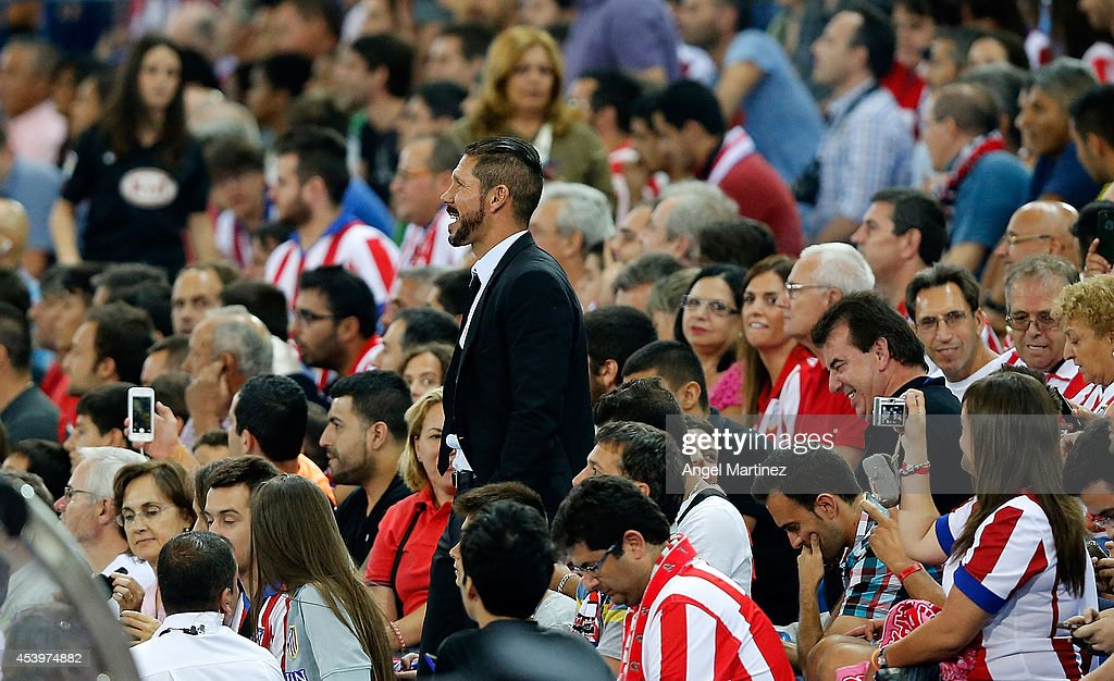 Club Atletico de Madrid v Real Madrid - Supercopa: Second Leg : News Photo