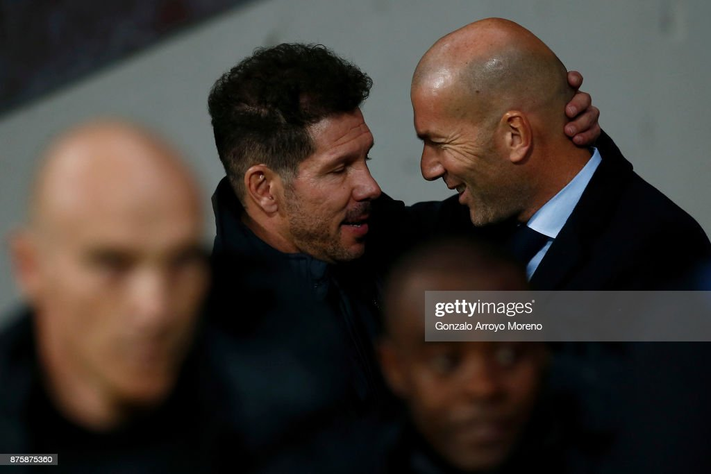 Atletico Madrid v Real Madrid - La Liga : Photo d'actualité