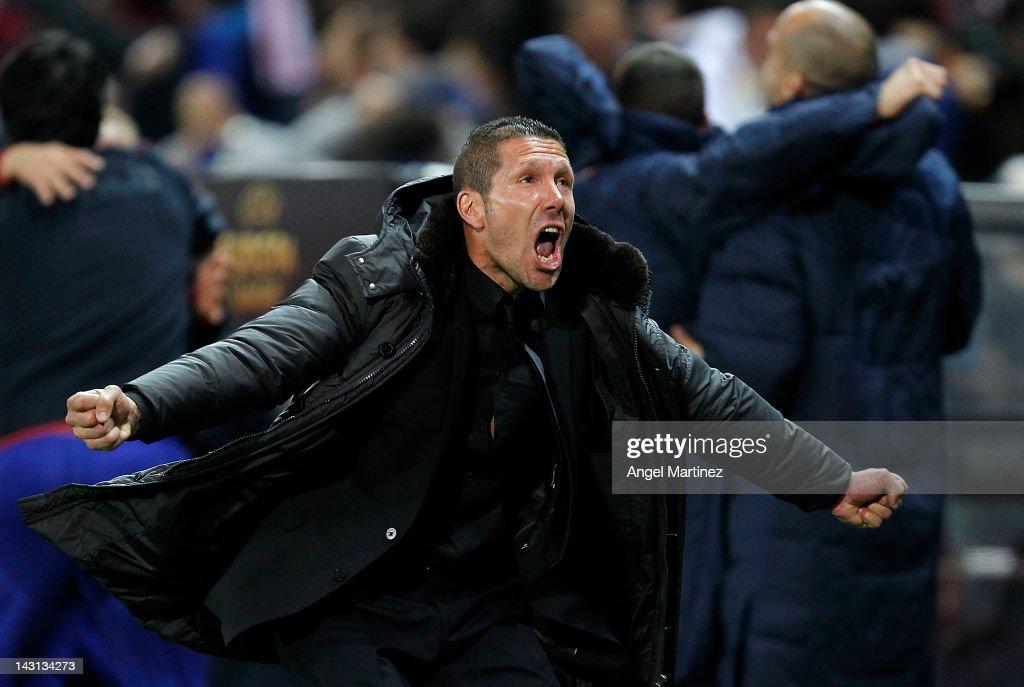 Club Atletico de Madrid v Valencia CF - UEFA Europa League Semi Final : News Photo