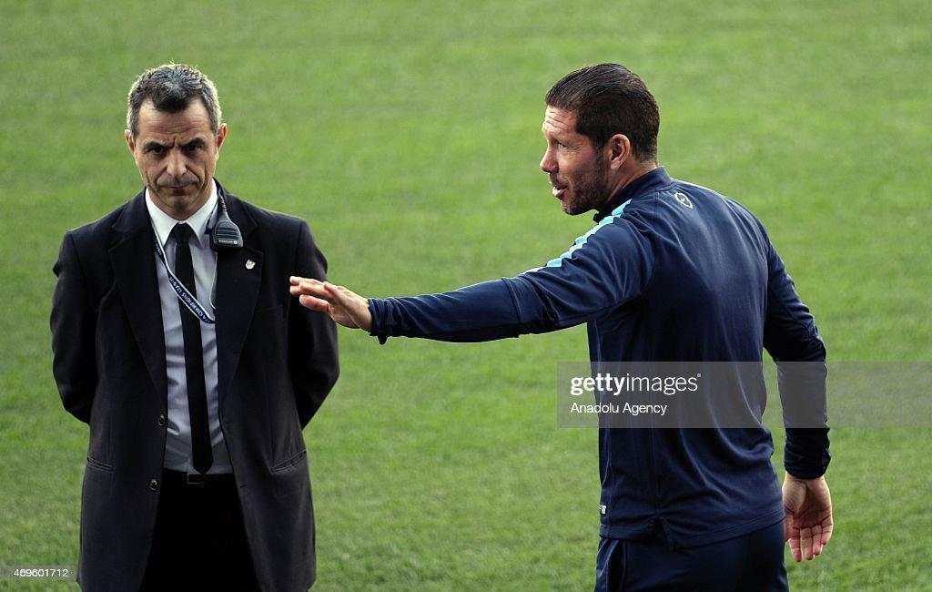 Training Session of Club Atletico de Madrid : News Photo
