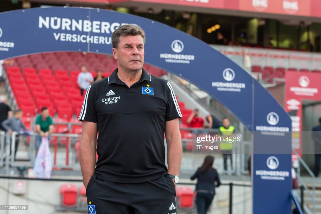 1. FC Nuernberg v Hamburger SV - Second Bundesliga : News Photo
