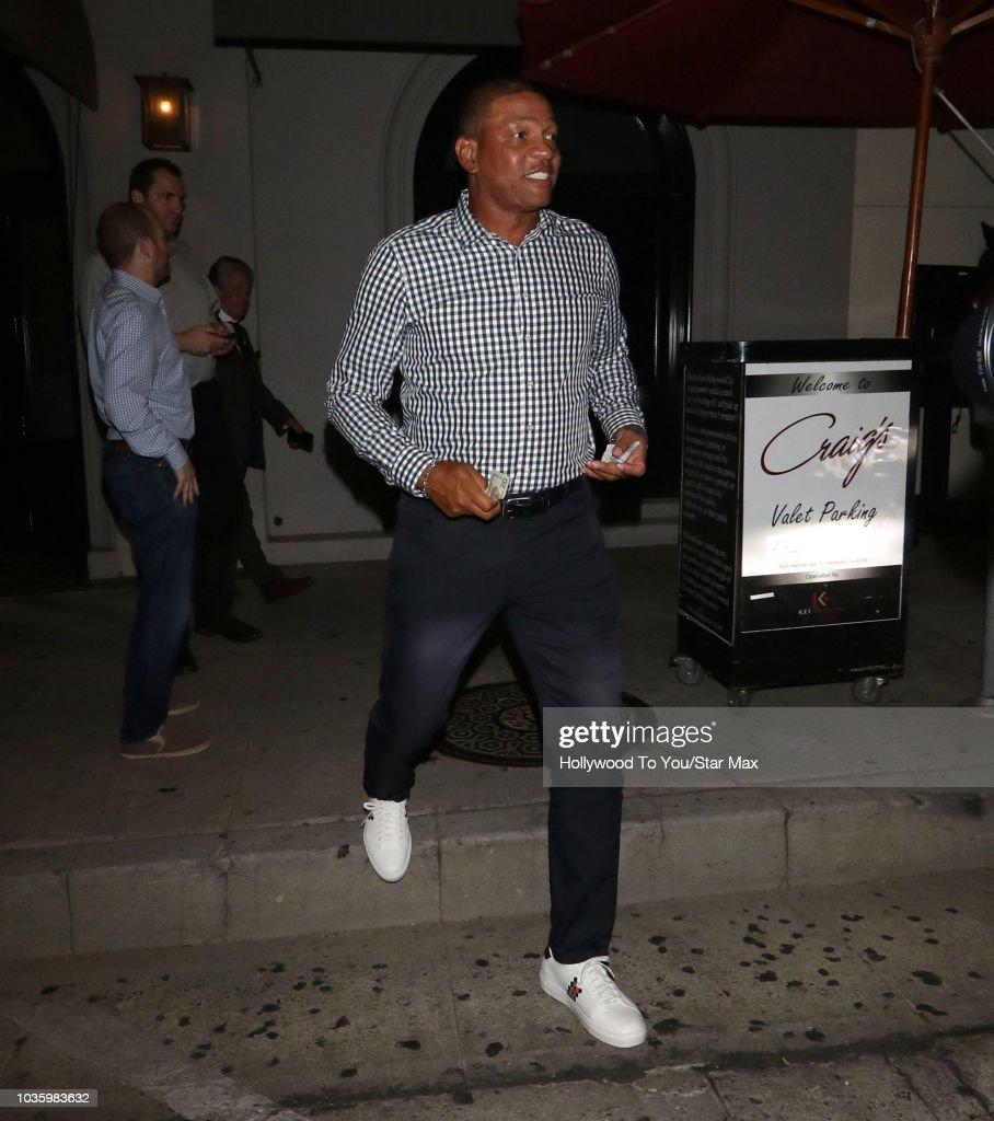 Celebrity Sightings In Los Angeles - September 18, 2018 : News Photo