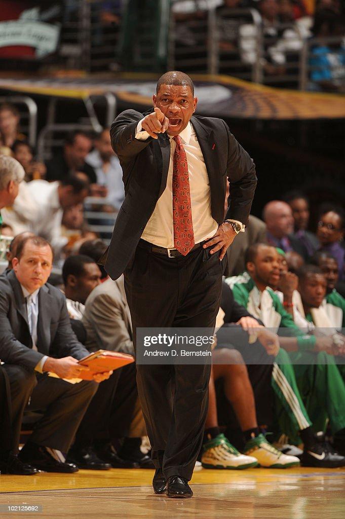 NBA Finals Game 6:  Boston Celtics v Los Angeles Lakers : News Photo