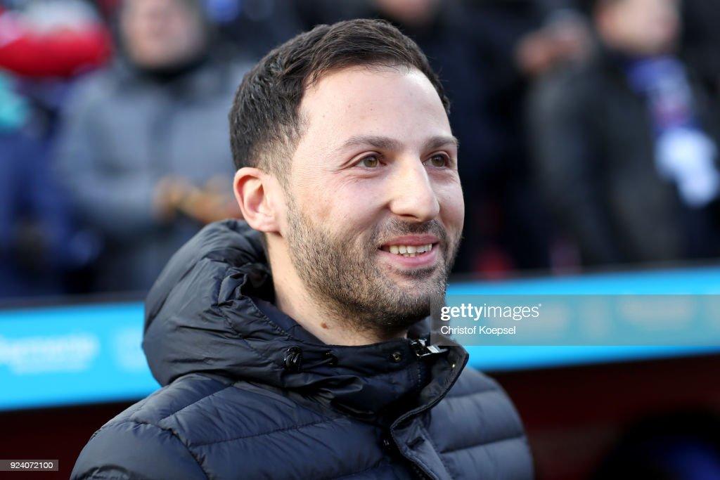 Domenico Tedesco, Trainer von Schalke 04