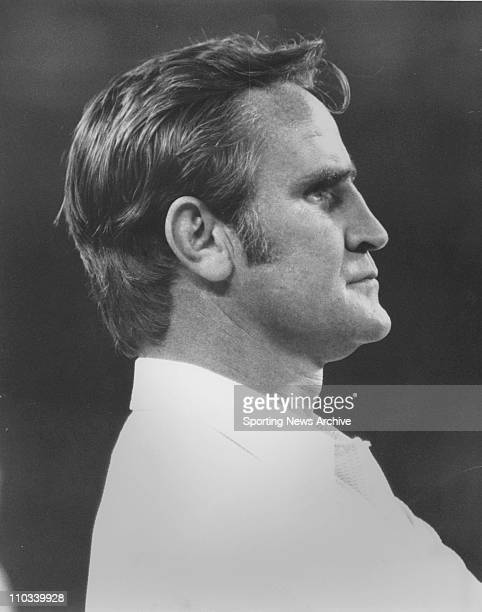 Head coach Don Shula of the Miami Dolphins 1972