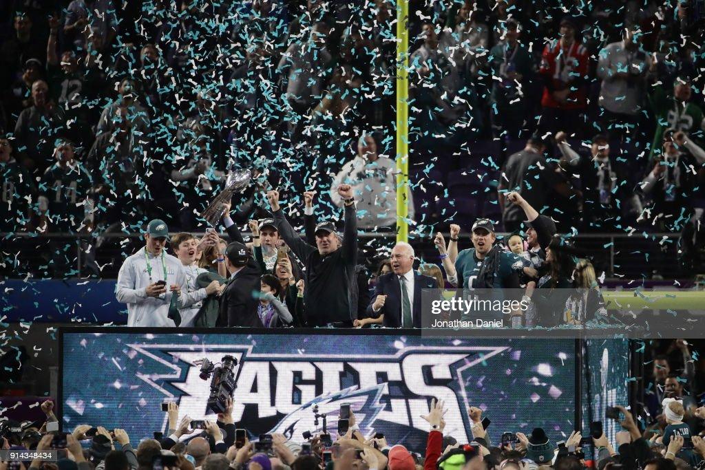 Super Bowl LII - Philadelphia Eagles v New England Patriots : Fotografía de noticias
