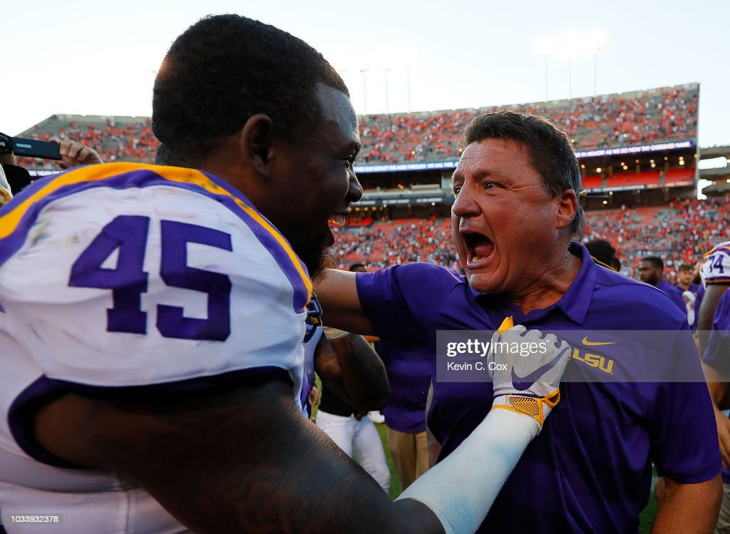 LSU v Auburn : News Photo