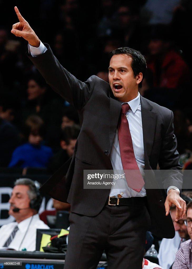 Miami Heat v Brooklyn Nets : Foto jornalística